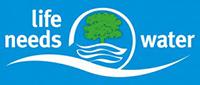 Life Needs Water Logo | Responsibility